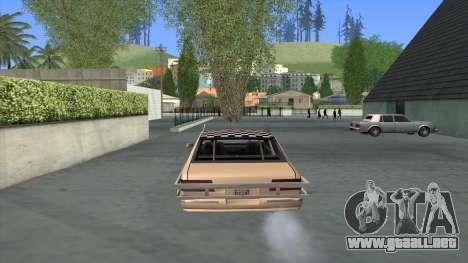 Bloodring Premier para GTA San Andreas vista posterior izquierda