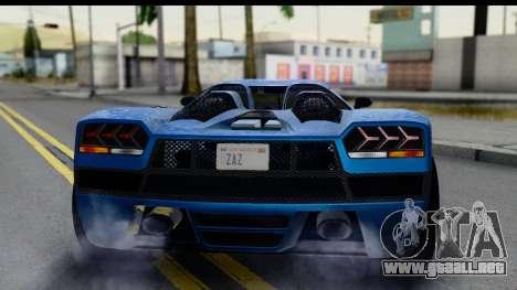 GTA 5 Overflod Entity XF IVF para visión interna GTA San Andreas