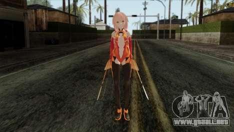 Inori (Guity Crown) para GTA San Andreas