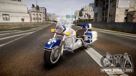GTA V Western Motorcycle Company Sovereign QC para GTA 4