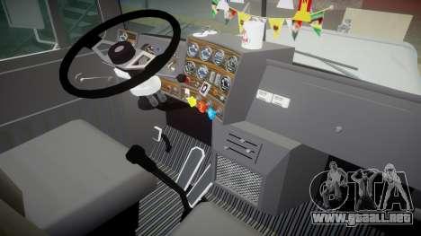 Mack R700 para GTA 4 vista hacia atrás
