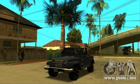 Mesa Final para visión interna GTA San Andreas