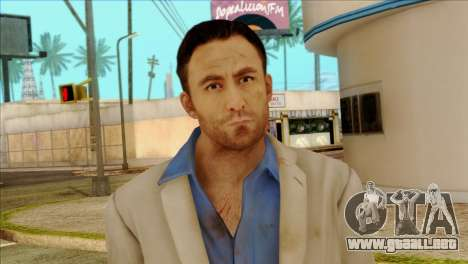 Nick from Left 4 Dead 2 para GTA San Andreas tercera pantalla