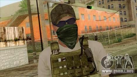 Sniper from PMC para GTA San Andreas tercera pantalla