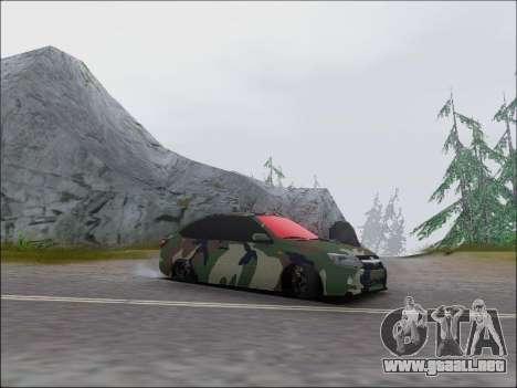 Lada Granta Liftback Coupe para GTA San Andreas left
