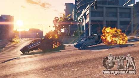 GTA 5 El debilitamiento del vehículo tercera captura de pantalla