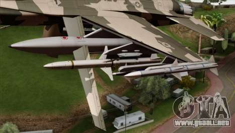 F-16C Top Gun para la visión correcta GTA San Andreas