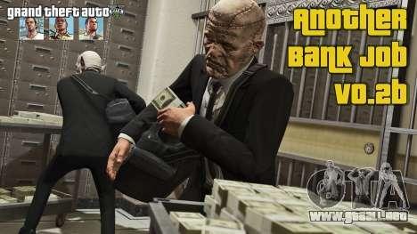 GTA 5 El robo de un banco v0.2b