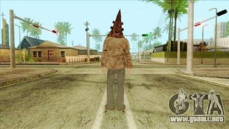 Bogeyman Alex Shepherd Skin without Flashlight para GTA San Andreas segunda pantalla
