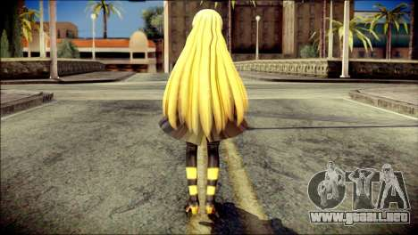 Lilly from Vocaloid para GTA San Andreas segunda pantalla