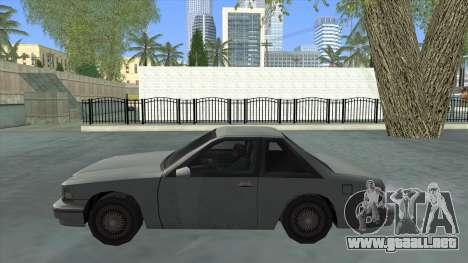 Premier Coupe para GTA San Andreas left