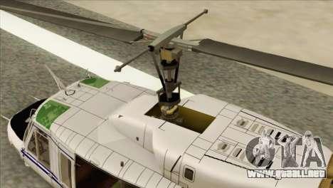 Agusta-Bell AB-212 Croatian Police para la visión correcta GTA San Andreas