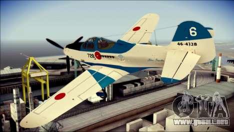 P-39N Airacobra JASDF Blue Impulse para GTA San Andreas left