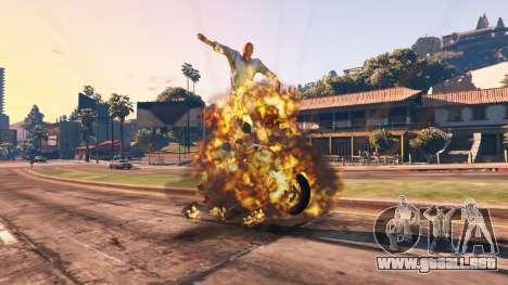 GTA 5 El debilitamiento del vehículo quinta captura de pantalla