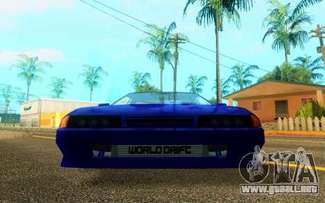 Elegy WorldDrift v1 para GTA San Andreas left
