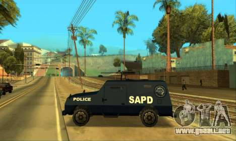 Beta FBI Truck para visión interna GTA San Andreas