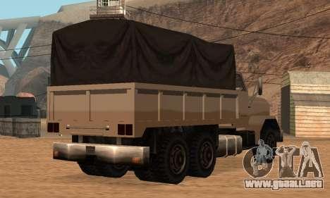 Barracks Fixed para GTA San Andreas vista hacia atrás