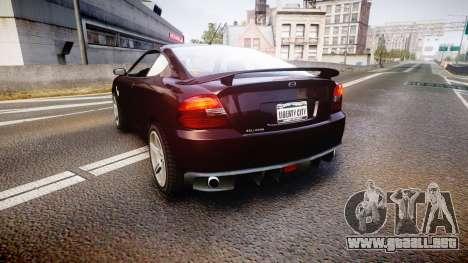 GTA V Bollokan Prairie para GTA 4 Vista posterior izquierda
