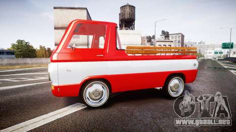 Dodge A100 Pickup 1964 para GTA 4 left