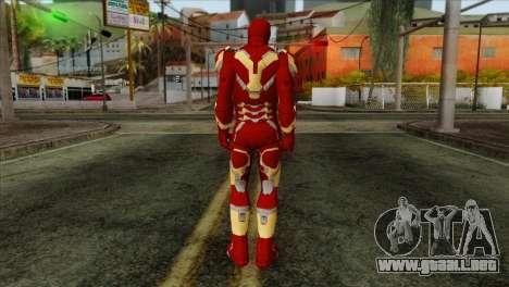 Iron Man Mark 43 Svengers 2 para GTA San Andreas segunda pantalla