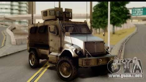 International MaxxPro MRAP para GTA San Andreas