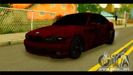 BMW 330 Tuning Red Dragon para GTA San Andreas