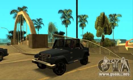 Mesa Final para GTA San Andreas left