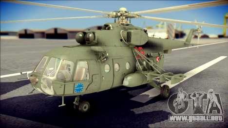 Mil Mi-8 Polish Air Force EUFOR para GTA San Andreas