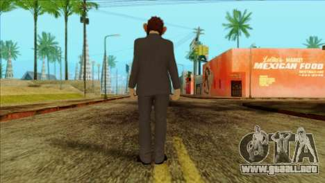 Skin from GTA 5 para GTA San Andreas segunda pantalla