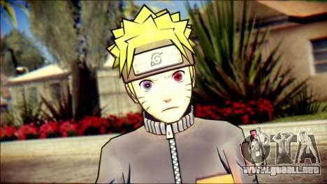 Naruto Skin para GTA San Andreas tercera pantalla
