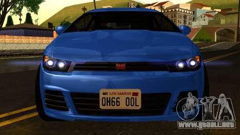 GTA 5 Dinka Blista para visión interna GTA San Andreas