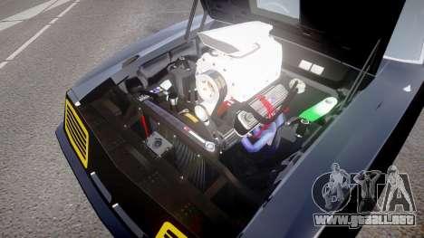 Ford Falcon XB GT351 Coupe 1973 Mad Max para GTA 4 vista hacia atrás