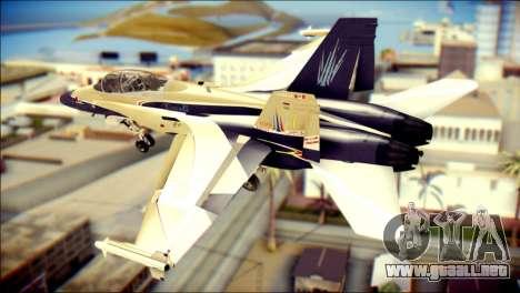 FA-18D Hornet RCAF para GTA San Andreas left