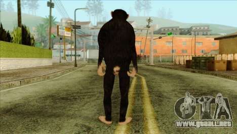 Monkey Skin from GTA 5 v1 para GTA San Andreas segunda pantalla