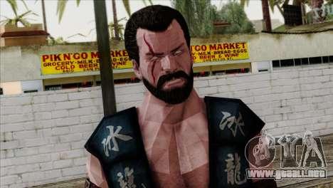 Sub-Zero Skin Mortal Kombat X para GTA San Andreas tercera pantalla