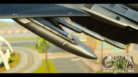 F-15C Eagle para la visión correcta GTA San Andreas