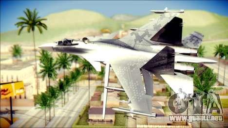 SU-37 Hexagon Madness para GTA San Andreas left