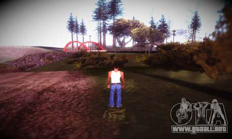 Ebin 7 ENB para GTA San Andreas quinta pantalla