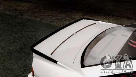 Opel Manta 400 v2 para GTA San Andreas vista hacia atrás