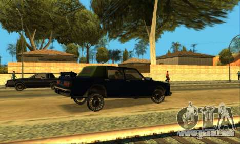 Beta VC Greenwood para vista inferior GTA San Andreas