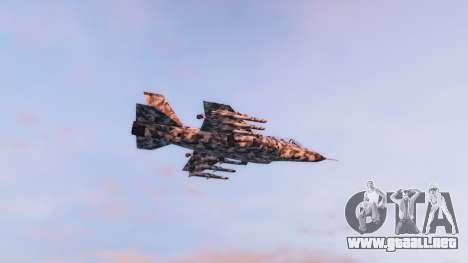 GTA 5 Hydra black & white camouflage segunda captura de pantalla