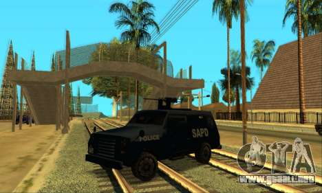 Beta FBI Truck para GTA San Andreas left