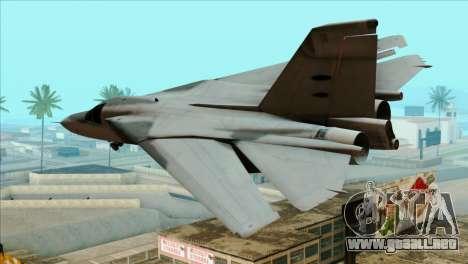 General Dynamics F-111 Aardvark para GTA San Andreas left