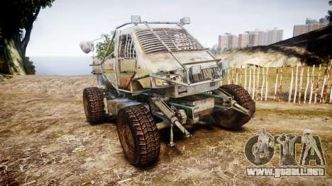 Militar camión blindado para GTA 4