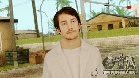 Takedown Redsabre NPC Scientist para GTA San Andreas tercera pantalla
