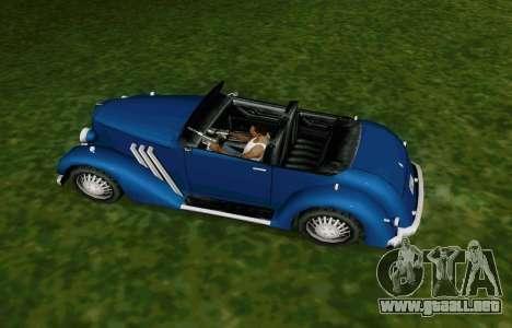 Hustler Cabriolet para la visión correcta GTA San Andreas