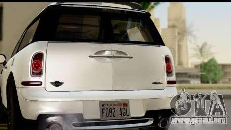 Mini Cooper Clubman 2011 para la visión correcta GTA San Andreas