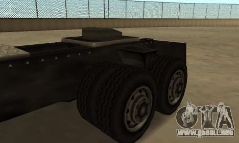 PS2 Tanker para GTA San Andreas vista hacia atrás