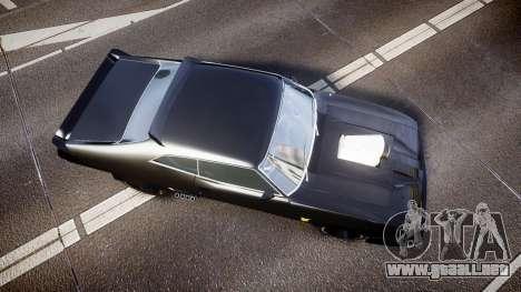 Ford Falcon XB GT351 Coupe 1973 Mad Max para GTA 4 visión correcta