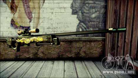 AWM Infernal Dragon CrossFire para GTA San Andreas